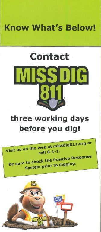 Miss Dig Information News Information City Of Clio Michigan Feel free to message me with other numbers for other regions, so i can add it to the post. miss dig information news information