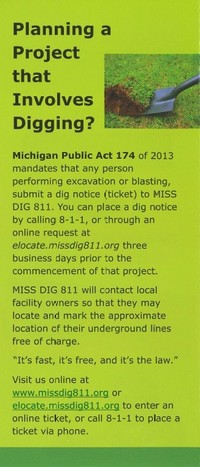 Miss Dig Information News Information City Of Clio Michigan Deviantart is the world's largest online social community for artists and art enthusiasts, allowing people to connect through the creation and sharing of art. miss dig information news information